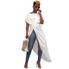 Summer New Fashion Women Dresses Draped Irregular Split Solid Party Streetwear Black White