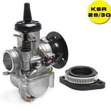 New Universal KSR 28/30 Carburetor 28mm 30mm Carbs Evolution Kit EVO Carb For CRF YZF