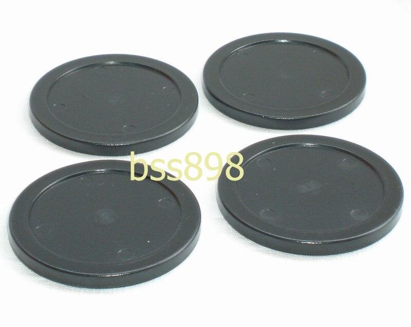 Free Shipping 4pcs/lot Black Air Hockey Table Pusher Puck 75mm 2.95