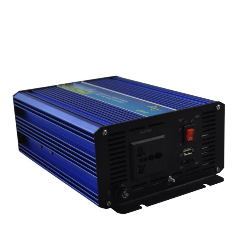 цена на Off grid 1000w Peak power inverter 500W pure sine wave inverter 12V DC TO 220V 50HZ AC Pure Sine Wave Power Inverter