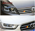 1 PCS Alemanha Bandeira Grille Emblema Do Emblema adesivos de carro para GOLF 6 7 POLO Passat CC Jetta SCIROCCO Carro JAVALI Styling