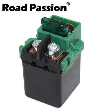 Road Passion 10 Motorcycle Starter Solenoid Relay Ignition Switch For HONDA NT700 SH150 VT1300 RVF750R RVT1000 ST1100 RVT1000R image