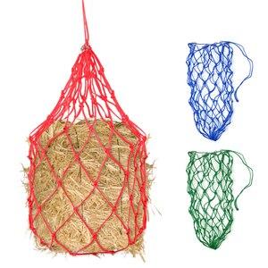 Image 1 - 5.4in конная сетка для сена, сумка для кормления Ослика, медленный кормушка, кормушка, конный корм для 8,8 фунтов (4 кг), принадлежности для сена