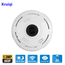 Kruiqi 960P IP Camera Wi-Fi Wireless Home Security Camera Surveillance wifi ip Camera 1080P Night Vision CCTV Alarm IP Camera jcwhcam 3mp 3d vr cam wifi ip camera 960p fisheye lens hd panorama wi fi camera ir night vision cctv security 5mp camera