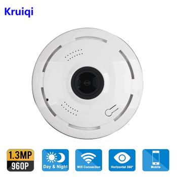 Kruiqi 960P IP Camera Wi-Fi Wireless Home Security Camera Surveillance wifi ip Camera 1080P Night Vision CCTV Alarm IP Camera mini wireless ip camera wifi 1080p 720p kamera wi fi smart night vision video surveillance camera network cctv security camera
