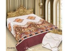 Покрывало двуспальное Marianna, Barokko, 180*220 см, бежевый, с узором