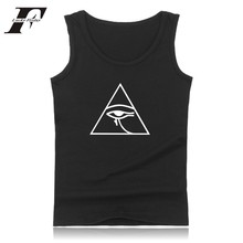Graphical Summer Vest Funny Design Sleeveless Shirts Bodybuilding Tank Tops Men Fitness Soft Cotton Tees Casual