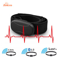 Digital 5 3KHZ Wireless Heart Rate Sensor ANT Heart Rate Monitor Bluetooth Heart Rate Chest Belt