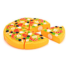 11Pcs/Set Cutting Plastic Pizza Food Kitchen Pretend Play Toy Early Education Toys for Baby Kids 88 YJS Dropship children s kitchen toys plastic simulation food pizza ice cream dessert fruit cutting pretend play early education toy for kids
