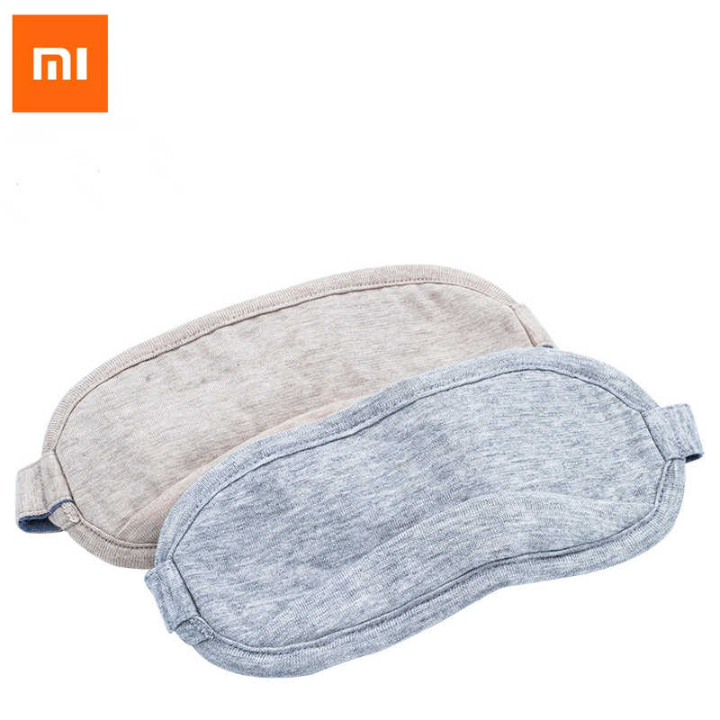 2018 Original Xiaomi 8H máscara de Ojos de viaje Oficina de descanso ayuda portátil respirable Sleep Goggles Cover Feel cool ice Cotton
