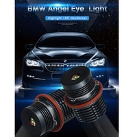 New Novelty Lighting Car Lights 2PCS E39 40W For BMW Angel Eye Headlights Tools Car Light black