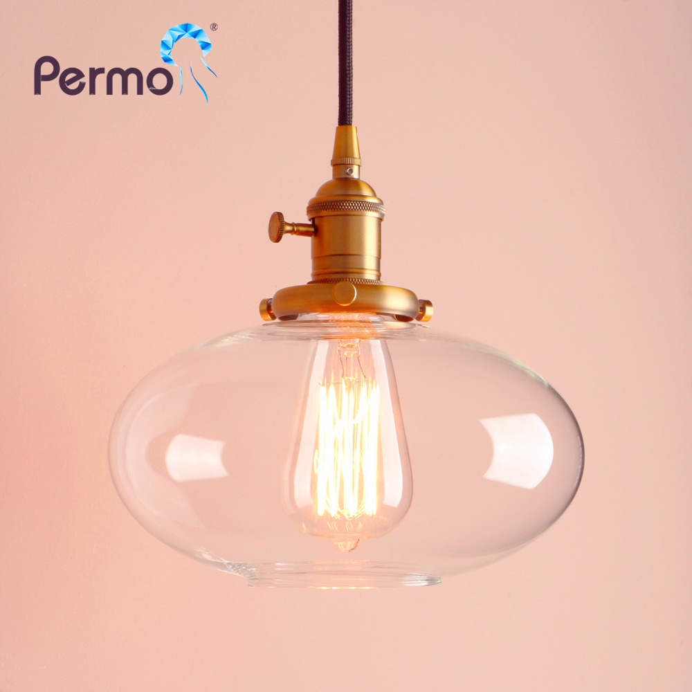 PERMO 2018 New Jars Glass Shade Pendant Lights Vintage Pendant Ceiling Lamps Modern HangLamp Luminaire Lights Fixture Loft Bar permo vintage rope pendant lights loft industrial pendant ceiling lamps modern hanglamp luminaire lights fixture