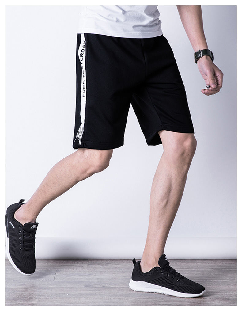 Casual Shorts Men Summer Sports Shorts Quality Beach Male Short Pants Breathable Elastic Waist Fashion Plus Size 5XL Boardshorts 03