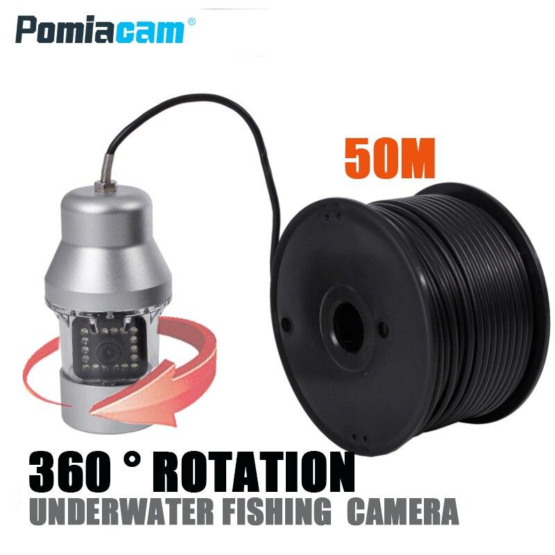 F08S 50 m visual inteligente de visão noturna da câmera Subaquática de pesca no gelo pesca peixe peixe detector de vídeo HD para o mar do rio lago