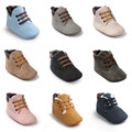 ROMIRUS Brand New Baby Boys Girls Handsome Casual High Top Lace Up Baby Booties Shoes Infant Toddler Kids Crib Babe Boots
