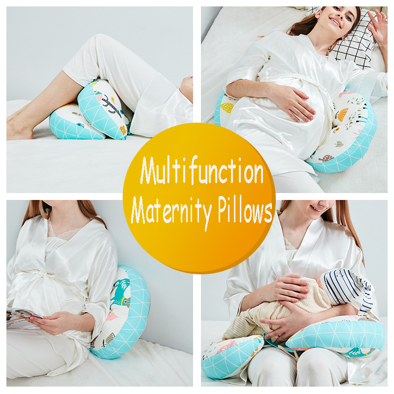 Multifunction U Shape Maternity Pillows Pregnant Women Body Belly Support Side Sleepers Soft Maternity Pillow 100% Cotton