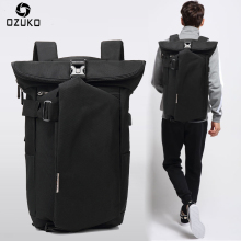 OZUKO Brand 2017 New Korean Style Men's Backpacks Fashion Laptop Computer Rucksack SchooL Bags Casual Travel waterproof Mochila