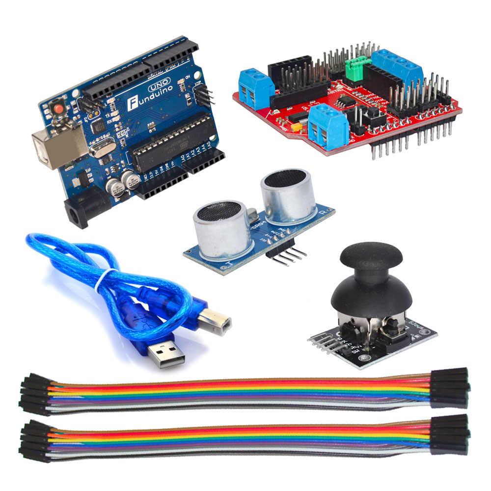 New! Ardublock graphical programming learning kit, Zero-based learning for  Arduino