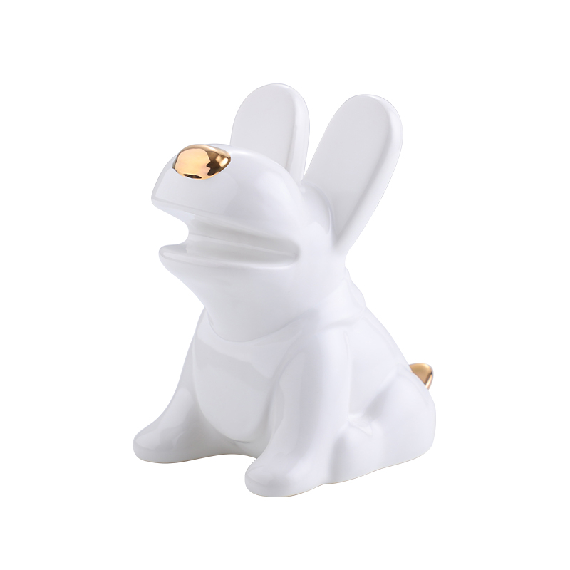 Sweet-Tempered Easter Decorations Wooden Rabbit Shapes Ornaments Craft Gifts Home Decoration Accessories Micro Fairy Garden Figurines Home & Garden