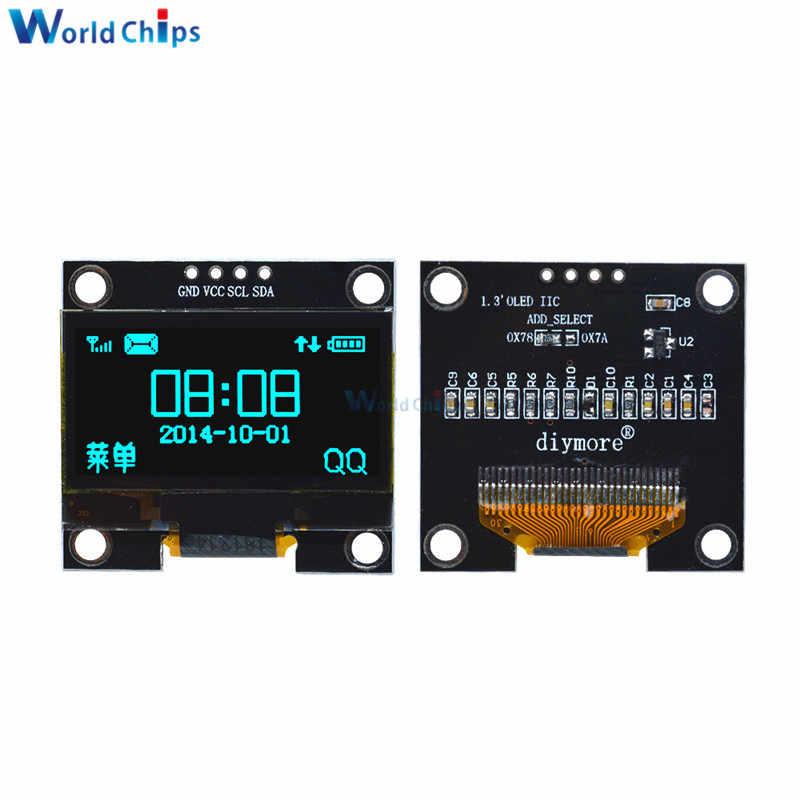 "1.3/"" OLED LCD Display Module IIC I2C Interface 128x64 3-5V For Arduino JT T CI"