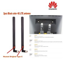 GENUINES original  Black Huawei 4G LTE for B593 b890 B525 b3000 External Antenna Original Type C (Router/modem not included)
