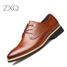 Hommes Chaussures En Cuir D'affaires hommes De Base Occasionnel Robe Chaussures En Cuir Véritable Bout Pointu Bureau Classique Oxford Chaussures Noir