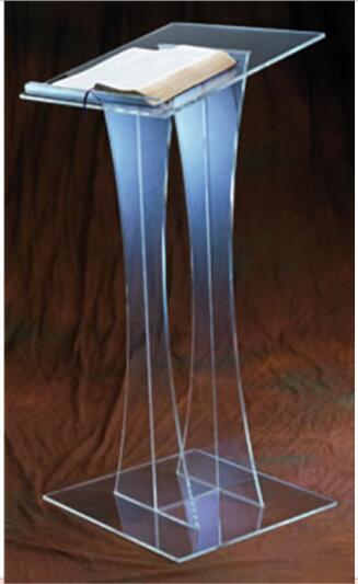 Acrylic Glass Rostrum Acrylic Podium Pulpit Lectern Speech Pulpit Designs