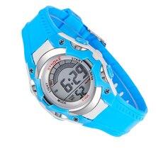 Дети Цифровые спортивные Часы Мода дети Автоматический водонепроницаемый datajust наручные качество led военно часы спортивные часы