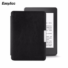 Easyacc For Amazon Kindle Paperwhite Cover 1/2/3 2015 Slim Magnetic Leather Smart 6 inch E-book Auto Sleep/Wake Free shipping