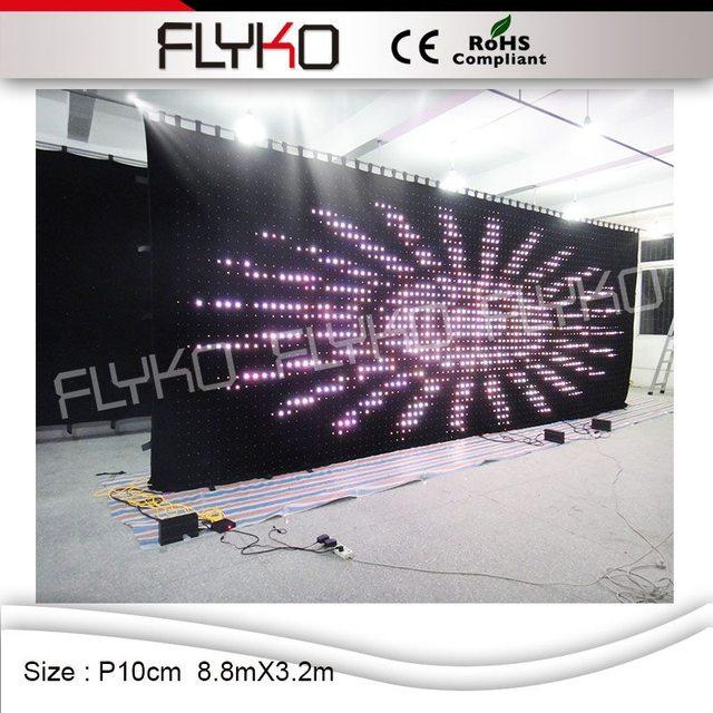p100mm ce rohs kopen goedkope video backstage gebruikt hight heldere podium gordijnen voor koop
