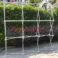 Wedding Flower Wall Stand Aluminum Backdrop Frame Curtain Pipe Kit For Wedding Grand Event Decoration