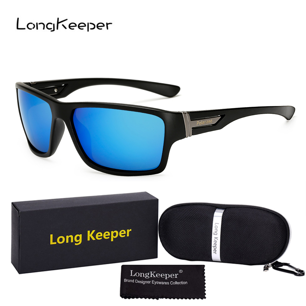 Long Keeper New Bike Glasses Women Men Classic Polarized Sports Goggles Motorcycle MTB Riding Sunglasses with Case & Gift Box