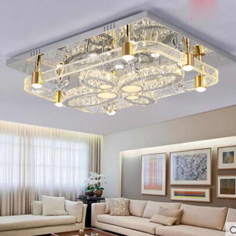 Indoor Lighting Chandelier Ceiling Lighting Chandelier Ceiling Lamp Led Living Room Lighting Embroidery Modern Minimalist Rectangular Bedroom Study Room Restaurant