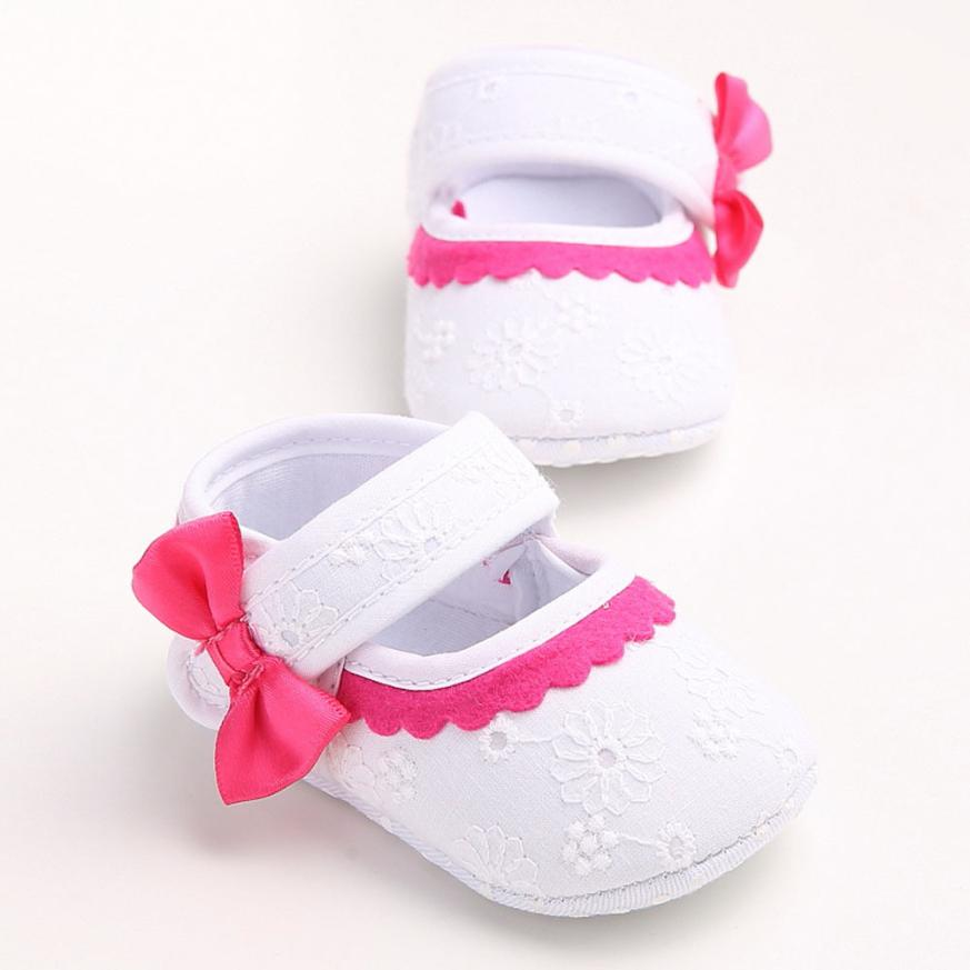 2018 Baby Infant Kids Girl Soft Sole Crib Toddler Newborn Shoes For Baby Shoes 1204