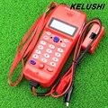 KELUSHI 2016 Высокое Качество NF-866 Телефон Телефон Телекоммуникационной волоконно-оптический инструмент Проверка Телефон DTMF Caller ID Обнаружения Авто