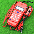 KELUSHI 2016 Alta Calidad NF-866 Teléfono Teléfono De Telecomunicaciones de fibra óptica herramienta de Verificación Telefónica Identificador de llamadas DTMF Detección Automática
