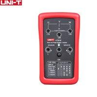 UNI T ut261b seqüência de fase e indicadores de rotação do motor testador medidores eletrônicos novos Medidores de energia     -