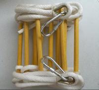 15M High strength Escape Rope ladder Folding Soft Step Ladders