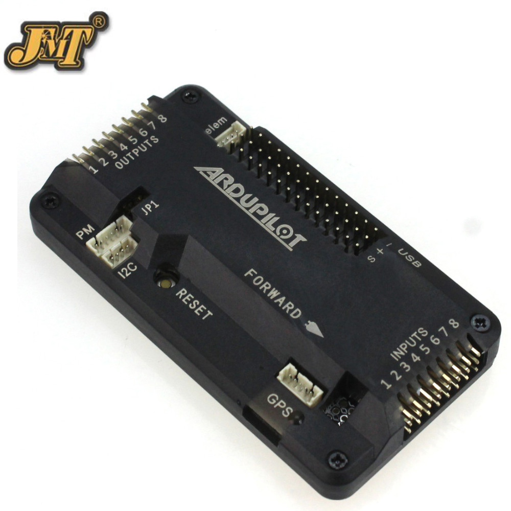 JMT Flight Controller Board Bent Pin 2.8 APM with Case for DIY FPV RC Drone Multicopter No Compass f14586 b apm 2 8 apm2 8 rc multicopter flight controller board compass
