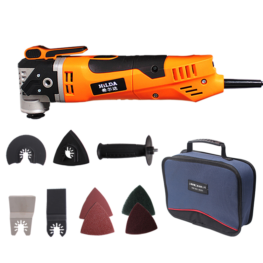 Electric Saw Renovator Tool Multi-Function Oscillating Trimmer Home Renovation Tool Trimmer woodworking Tools Bag Packing odin&bosch tool bag multi function electric woodworking repair bag hardware electric belt