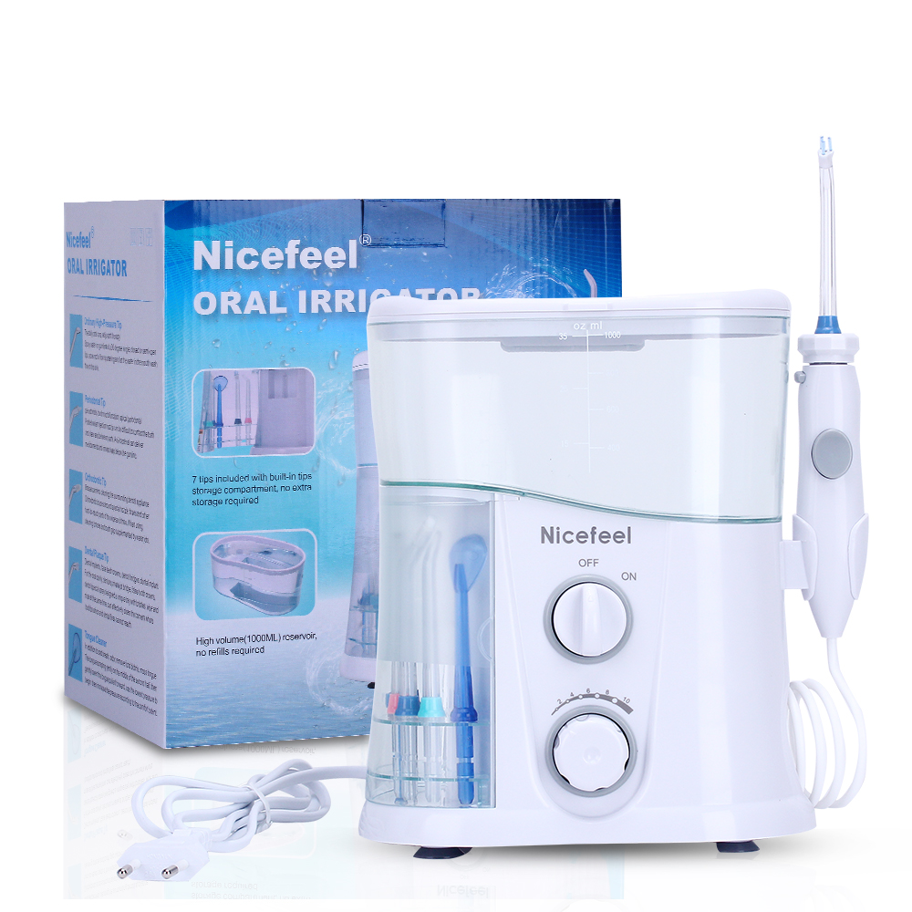 Electric Oral Irrigator Oral Care Dental Flosser Tooth Floss Water Flosser Dental SPA Water Floss Jet Water Toothbrush Pick 9 nozzles low noise oral irrigator water flosser irrigador dental floss jet dental spa teeth cleaning tooth cleaner hygiene care