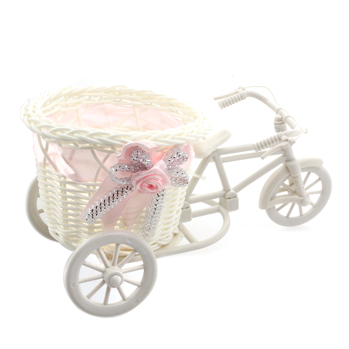 Handmade Bicycle Baskets : Novelty mini handmade rattan baskets tricycle bicycle