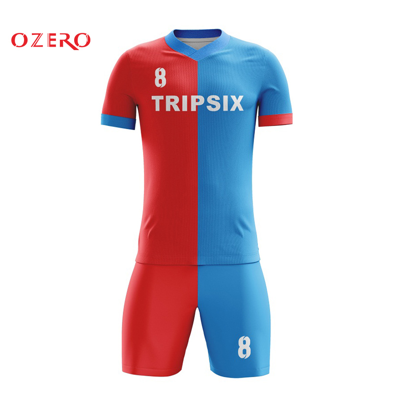 new product f8abd a5df8 US $140.0 |wholesale sublimated printed soccer shirt thai quality soccer  jersey football jersey kits-in Soccer Jerseys from Sports & Entertainment  on ...