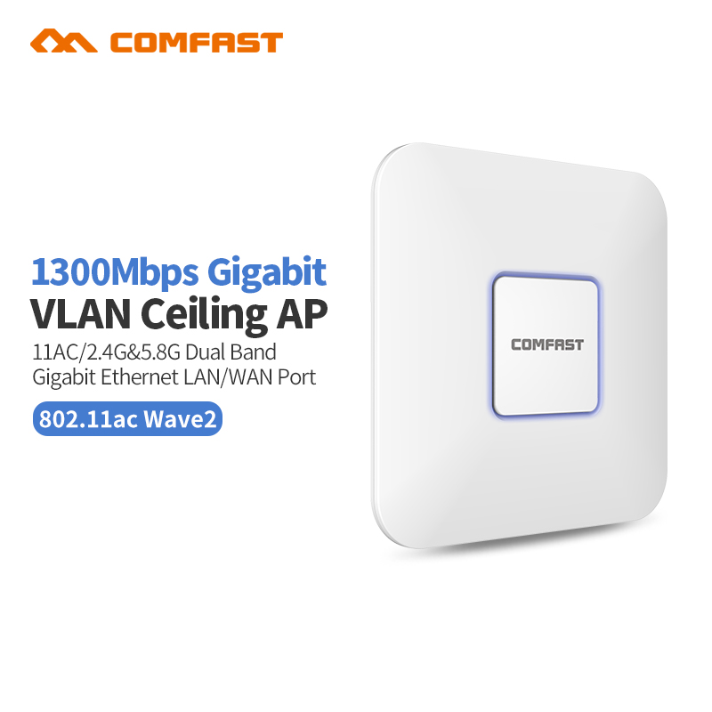 4pcs 1300Mbps Comfast indoor WI-FI gigabit Router repeater 802.11AC Dual band 2.4G/5GHz WiFi AP Antenna wi fi Signal amplifier цена