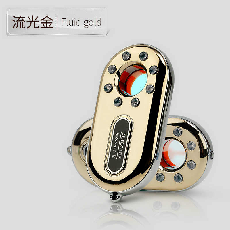 2019 Christmas Travel Privacy Safety Device Spy Finder Hidden Camera Detector+Smallest Anti-stealing Alarm System(GOLD)2019 Christmas Travel Privacy Safety Device Spy Finder Hidden Camera Detector+Smallest Anti-stealing Alarm System(GOLD)