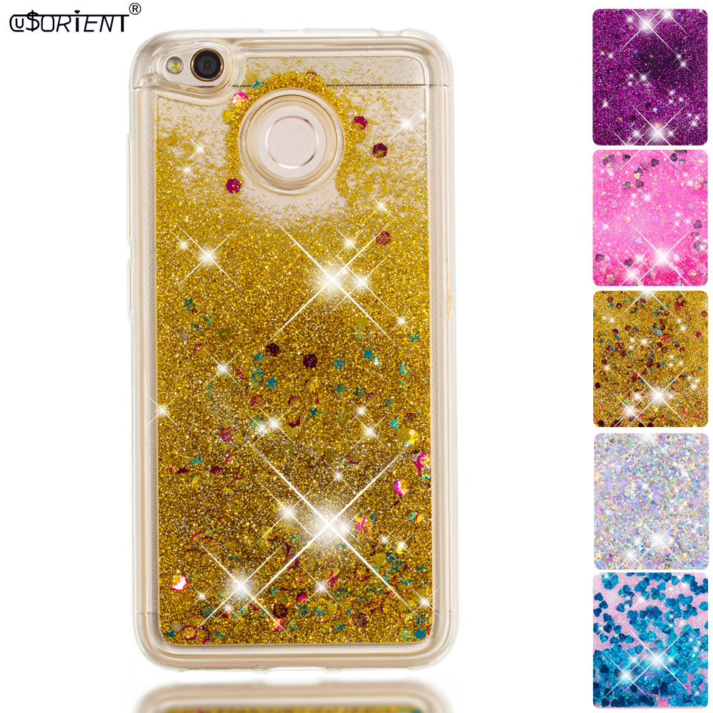 Phone Bags & Cases Half-wrapped Case Systematic Xiaomi Redmi 4x Bling Dynamic Liquid Quicksand Phone Case Xaomi Redmi4x Xiomi Red Mi Redmi 4x Soft Silicone Fitted Cover Funda Fragrant Aroma