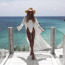 2019 Bikini Beach Cover-up Swimsuit Covers up Bathing Suit Summer Beach Wear Chiffon Cardigan Swimwear Beach Dress Tunic Robe
