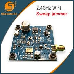 2.4 GHZ WiFi przetoczyła się przez Jammer tarcza 2.4G WiFi Jammer pokładzie rozwoju odległość 5 ~ 10 metrów