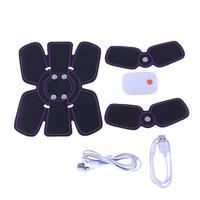 Smart EMS Wireless Electric Massager Electrotherapy Back Pain Relief ABS Fit Muscle Stimulator Abdominal Muscles Trainer