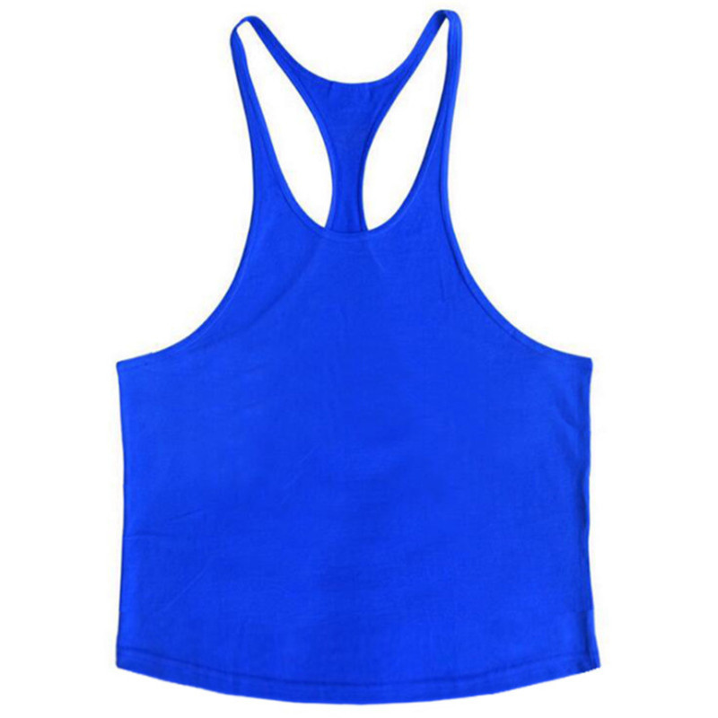 Fitness Solid O-neck Vest Men   Tops   Fashion Sleeveless   Tank     Top   Men 121#
